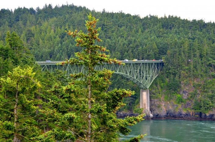 Deception Pass Bridge on North Whidbey