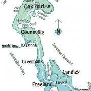 Whidbey island maps