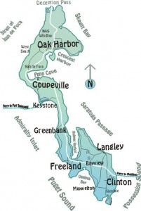 Map Of Whidbey Island 5 Fun Facts about Whidbey Island ~ Whidbey Island   Events, Local