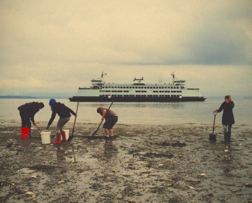 clamming whidbey island