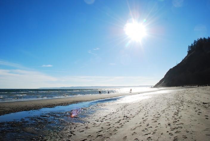 Double Bluff Beach - Photo by Alex Hepler