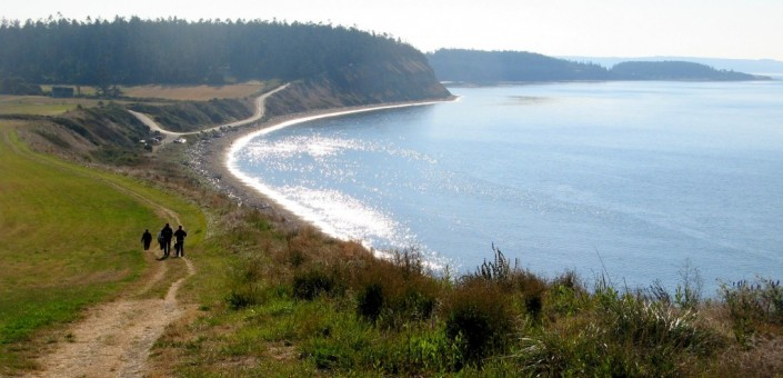 Ebey's Landing From Trail
