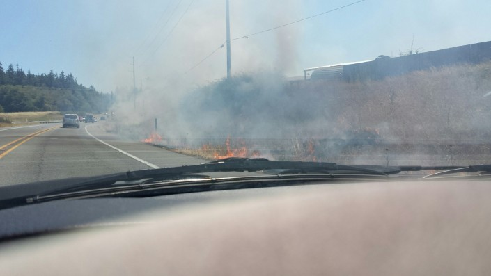 whidbey island brush fires