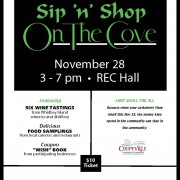 Coupeville Chamber Sip 'n' Shop