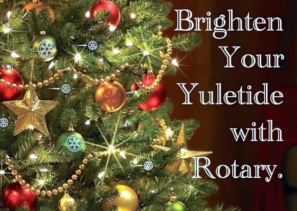 Rotary Christmas Trees
